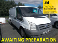Ford, TRANSIT, Panel Van, 2010, Manual, 2198 (cc)