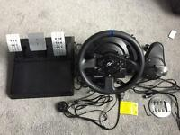 Thrustmaster T300RS GT edition and TH8A shifter