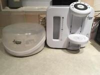 Tommee tippee perfect prep and accessories