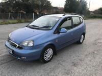 DAEWOO TACUMA 1.6 SX 1 YEARS MOT ONLY DONE 69k FULL MAIN AGENT HISTORY. DRIVES THE BEST.
