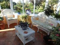 Rattan Wicker Conservatory Suite