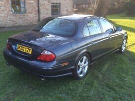 Jaguar S-Type 2.5 V6 Sport Auto Petrol 2002 Grey