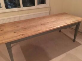 7ft Country Dining Room Table