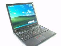 IBM Lenovo ThinkPad laptop. Model T42.