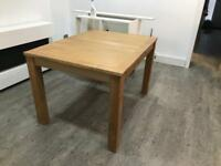 Excellent condition dining room table with four chairs