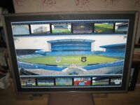 Manchester City Maine Road {105x74cm} Fantastic Large Framed Rare Picture