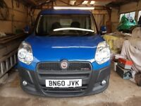 FIAT DOBLO 1.3 MULTIJET CARGO PANEL VAN 4 DOOR BLUE