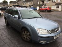 Ford Mondeo Zetec Estate - Off the road, for spares or repair