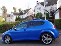(2009) SEAT LEON FR 2.0 TDi SP ED SPEED BLUE 1 OWNER, GENUINE 60K MILES, FSH, 9 STAMPS, MASSIVE SPEC