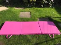 Thick folding gym/yoga mats
