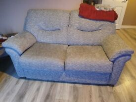As new sofa and armchair for sale.