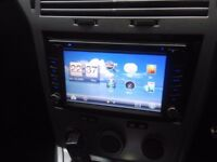 Double din touch screen headunit