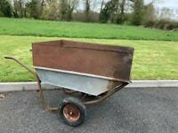 Wheelbarrow large idea for horse stables or large gardens