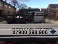 Free uplift old scrap metal