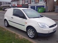 FORD FIESTA CAR VAN 1.4 DIESEL - -GOOD EXCELLENT - PART EXCHANGE WELCOME