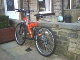 as new bike for sale 12 years upwards excellent condition, bargain at price offered.