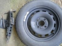 Spare wheel 175 65 R 14 fits Ford Fiesta