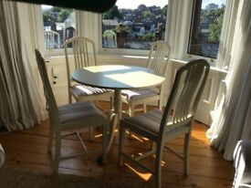 Beds, sofa, armchairs, table and chairs -all free