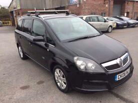 Vauxhall Zafira 1.6 i 16v Active 5dr 7 Seater 2006 (06 reg), MPV (30 days warranty) £1399