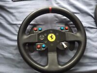 Thrustmaster Ferrari add on wheel