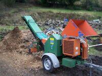 Shredder Posch green waste shredder