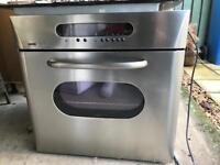 Zanussi integrated fan oven