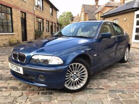BMW 3 Series 2.2 320i SE 4dr£790 p/x welcome **FULL S/H**6 MONTHS WARRANTY 2001 (Y reg), Saloon