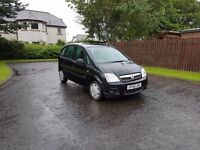 Vauxhall Meriva 1.6 Life 5 Door In Black, 11 Months Mot drives great , cheap insurance group 4,