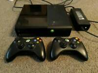 Xbox 360 2 Controllers and 25 Games