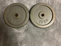 Weights plates cast iron