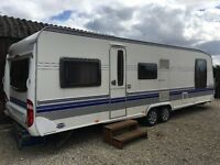 2008 Hobby VIP 690 WHB Twin Wheel Caravan Island Bed Model