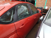 Ford Focus MK 4 Drivers Front door in Red Ring for more info 2008+