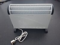 HEATER CHALLENGE 3KW CONVECTOR TURBO WITH 24HR PROGRAMMABLE TIMER.