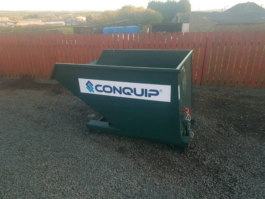Brand new conquip forklift tipping skip farm industrial unit building site tractor
