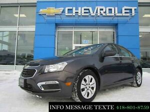 2016 CHEVROLET CRUZE LT TURBO, AUTOMATIQUE