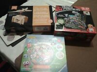 Transformers 3-D Puzzle, Moshi Monsters Ball Puzzle & a New Flying Pteranodon