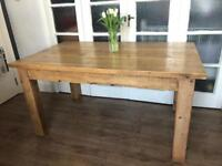 Chunky rustic table ENGLISH designer Free Delivery Ldn🇬🇧HALO