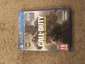 brand new ps4 call of duty infinite warfare