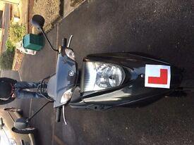 YAMAHA XC 125 cc E VITY 2012y Mileage: 5399