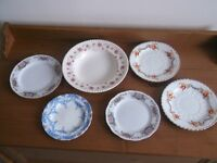 Selection of Pretty China Plates