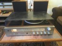 Vintage stereo music system