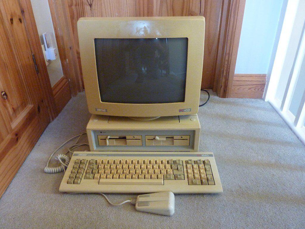 Amstrad 1640 & colour monitor
