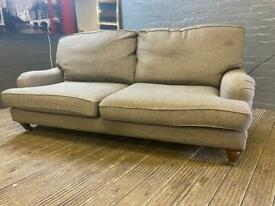 DURESTA STYLISH GREY FABRIC SOFA IN EXCELLENT CONDITION