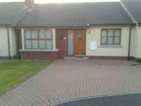 For rent. 2 bedroom bungalow, Craigavon