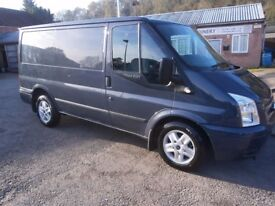 ford transit limited 2.2tdci van metallic grey/blue auto stop start A/ heated seats 6sp