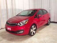2015 Kia Rio SX - leather, UVO, 17 alloys