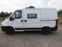 2002 PEUGEOT BOXER DAY VAN CAMPER WITH AWNING