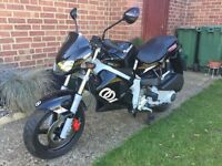 2005 GILERA DNA 180...12 MONTHS MOT... ONLY 2000 MILES