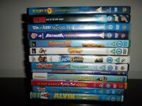 childrens dvds large bundle over 40