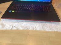 GAMING TOSHIBA QOSMIO X70 LAPTOP,32GB RAM,17.3 INCH,CORE i7,1.2TB SSD,ORP £1,999